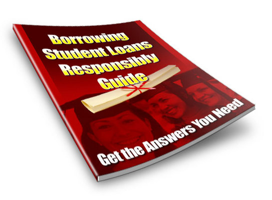 Product picture Borrowing Student Loans Responsibly Guide