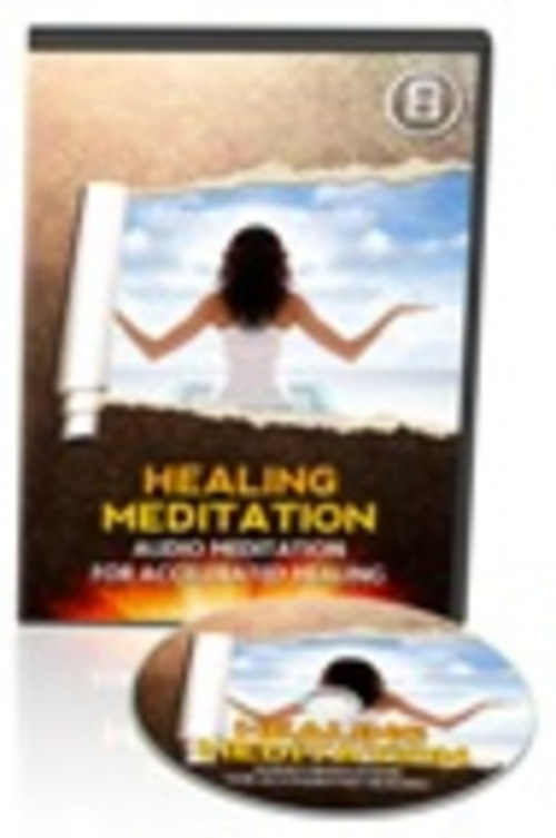 Product picture *NEW* Healing Meditation Audio
