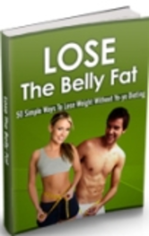 Product picture *NEW* Lose The Belly Fat
