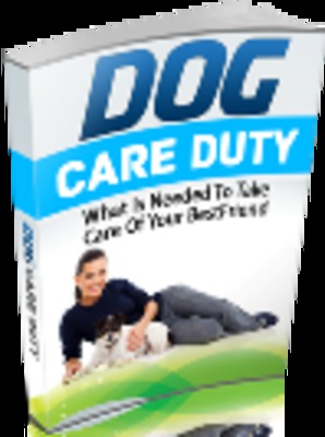 Product picture **NEW** Dog Care Duty